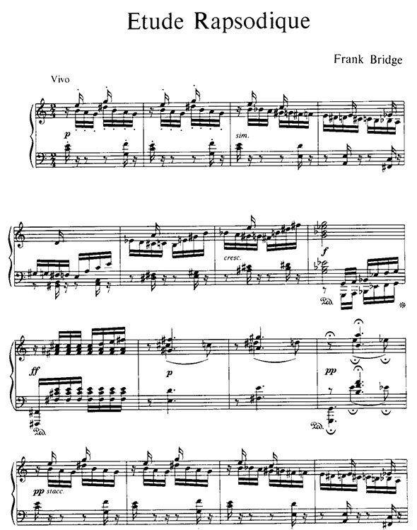 Frank Bridge - The Allegri String Quartet Allegri String Quartet String Quartets Numbers 3 And 4