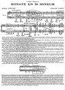 Cortot—Liszt—Sonata-en-si-menor