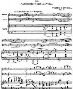 Dunhill---Phantasy-Trio-for-piano,-violin-and-viola