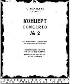 Soviet Piano Concertos Scores