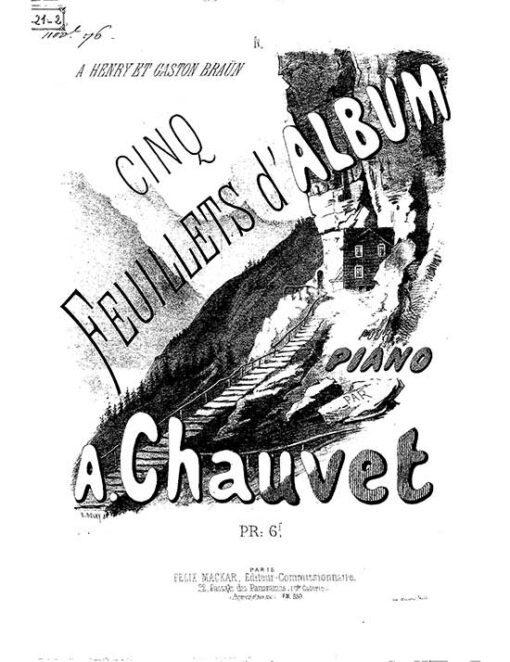 Cinq Feuillets d'Album