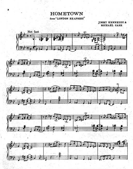 how to read piano score