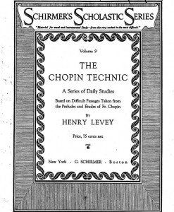 Levey Chopin Technic