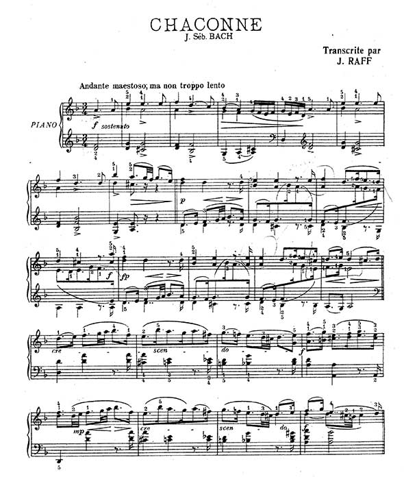 bach chaconne d minor Scribd is the world's largest social reading and publishing site.