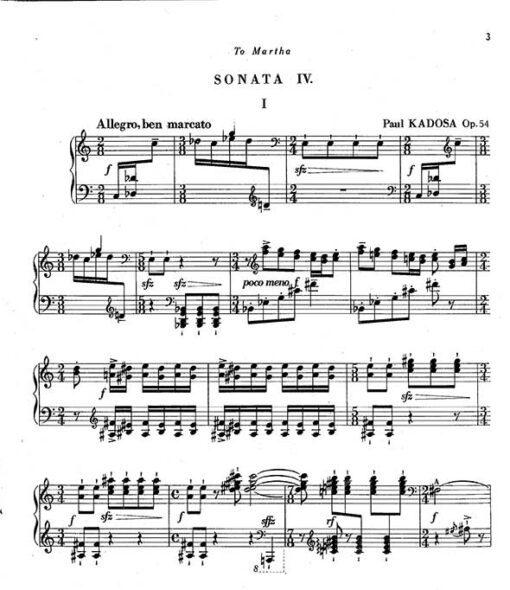 Pal Kadosa Piano Sheet Music