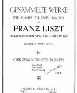 Liszt ed Friedman