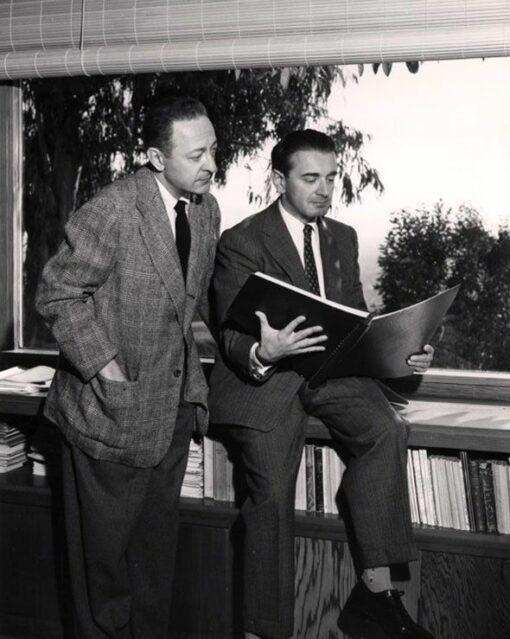 Miklos Rozsa and Heifetz