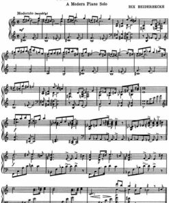 Bix Beiderbecke jazz Candlelights Davenport Blues piano