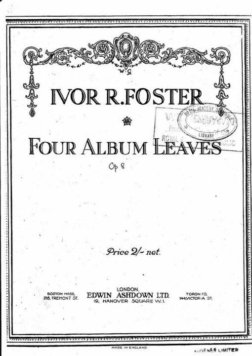 Ivor R. Foster