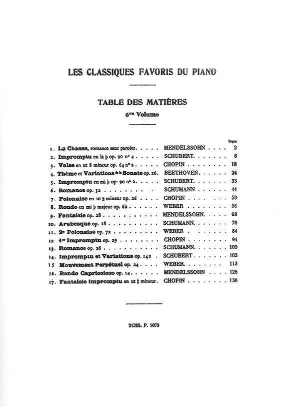 Les Classiques Favoris du Piano by Théodore Lack ALL VOLUMES Theodore Lack