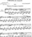 Pick-Mangiagalli – Silhouettes de Carnaval No.2 Chanson a Colombine-3