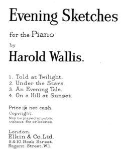 Wallis - Evening Sketches-1