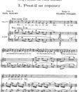 Poulenc – Cinq Poemes de Paul Eluard 1935-2